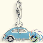 VW Volkswagen Beetle Charm Thomas Style Charm Club Good Jewelry In silver-plated Fit Bag Bracelet(China (Mainland))