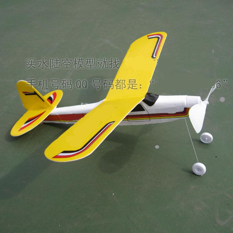 Hot 3d modelisme gemonteerd rubber band elastische vliegtuig model toy Kids verjaardagscadeau Foam romp rubber band elastische 3d(China (Mainland))