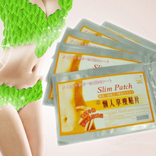 1 Pack Hot Selling Slim Patches Slimming Fast Loss Weight Burn Fat Feet Detox Trim Pads