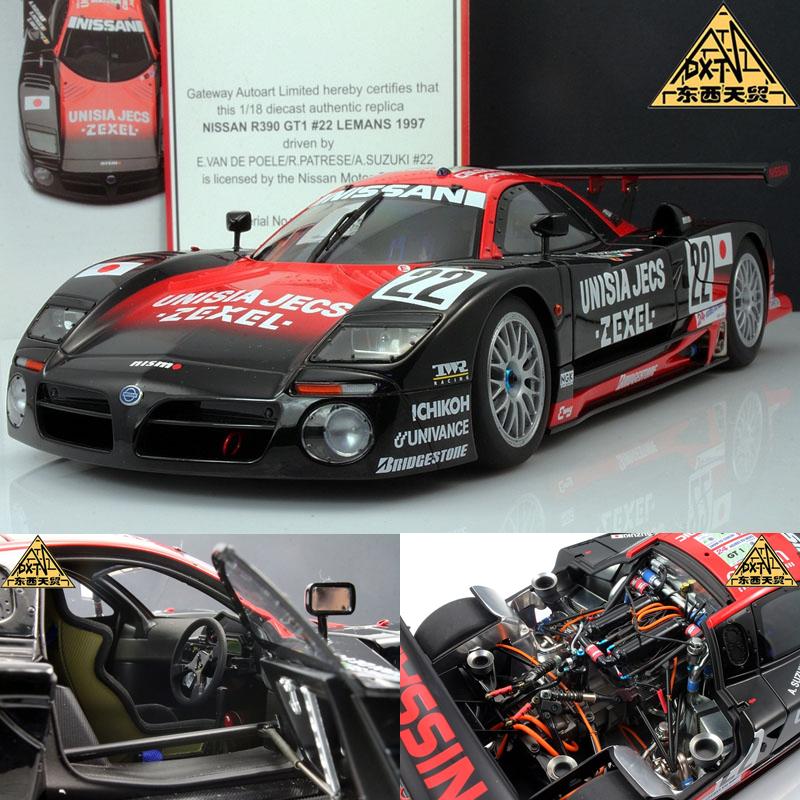 Alto AUTOart 1:18 1997 NISSAN R390 GT1 Le Mans 22 R.PATRES model(China (Mainland))