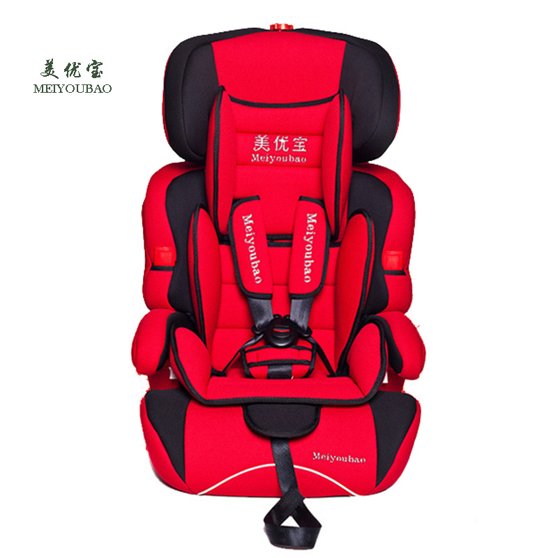 High Quality Baby Car Seat Kids Safety Seat Children Protection 9M-12Y European Standard Auto Booster Chair 4 Colors(China (Mainland))