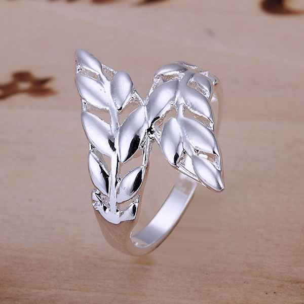 R119 Leather Ring 925 silver ring,high quality ,fashion jewelry, Nickle free,antiallergic(China (Mainland))