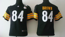 All stitched Youth Pittsburgh Steelers Kids children,32 Franco Harris 83 Heath Miller 84 Antonio Brown,camouflage(China (Mainland))