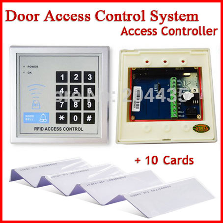 Access Control System RFID Card Keytab Proximity Door Lock Free Shipping 5YOA Brand New(China (Mainland))