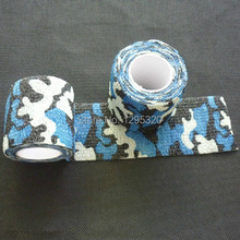 Stretchable Army Bandage,Camouflage Tape Gun Rifle Stealth Wrap Desert Shooting Hunting Tactical Tapes ykgix