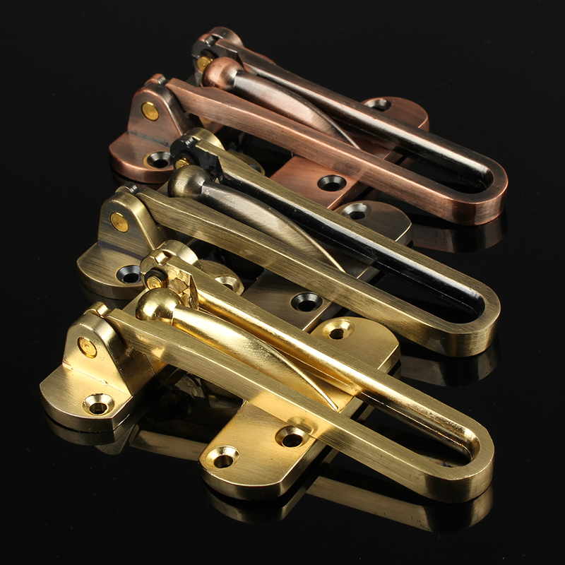4Pcs/Lot Swing Bar Door Guard Anti-theft Latch Latches Intrusion Prevention Home safety(China (Mainland))