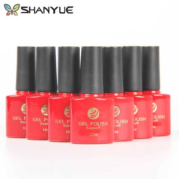 SHANYUE 72 Colours LED UV Gel Nail Polish Sapphire Base Color Paint Soak Off French Manicure Vernis Gel Lak Nagellack 10ml(China (Mainland))
