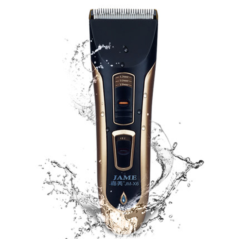 ipx7 washable eletric hair trimmer rechargeable beard hair clipper cutters fo. Black Bedroom Furniture Sets. Home Design Ideas