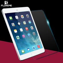 FLOVEME 9H Anti-scratch Tempered Glass Screen Protector For iPad Mini 4 Mini4 Thin Clear Toughened Protective Film + Retail Box(China (Mainland))