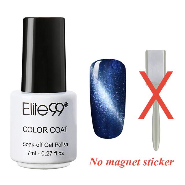 Elite99 7 мл 3D магнитная кошка глаз ногтей гель-лак из светодиодов гель лак для ...