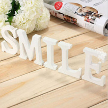 Buy 26 English Letters Wooden Letters Alphabet Wall Hanging Wedding Party Supplies Home Shop Decoration for $1.33 in AliExpress store