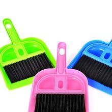 June 2 Mosunx Business    Mini Desktop Sweep Cleaning Brush Small Broom Dustpan Set(China (Mainland))