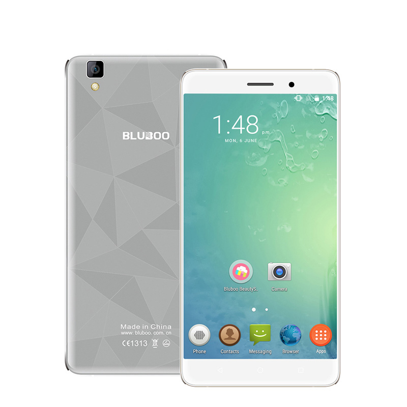 Bluboo Maya Smartphone 5.5 Inch HD IPS MTK6580A Quad Core Android 6.0 Mobile Cell Phone 13MP CAM 2GB RAM 16GB ROM 3G WCDMA(China (Mainland))