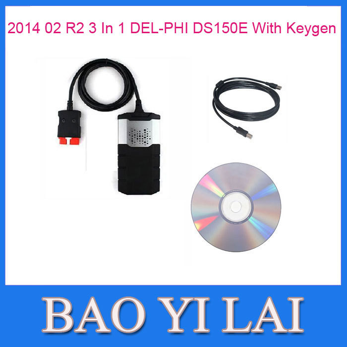 2014 02 R2 New VCI DS150e without Bluetooth For Car Truck AUTOCOM CDP Plus Auto OBD OBD2 OBDII Scanner Diagnostic tools(China (Mainland))