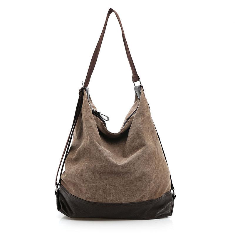 Korean Special Large Capacity Women Messenger Bags Handbags Oversized Shoulder Bag Casual Women Canvas Bag Handbag(China (Mainland))