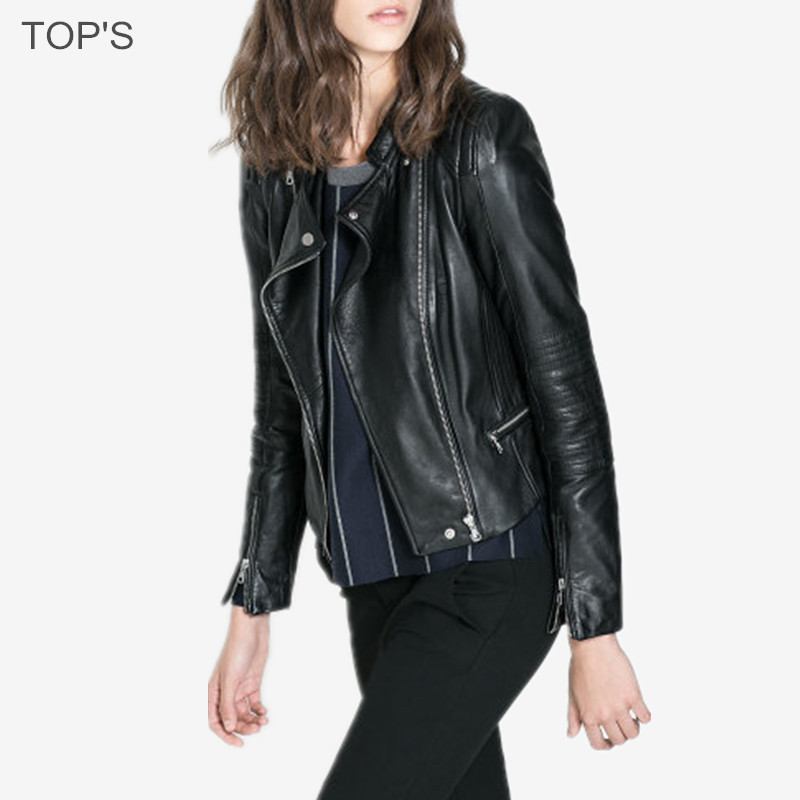 2015 Hot Sell Bike Jacket Faux  Leather Coat  Women Leather Jacket Jaqueta CouroОдежда и ак�е��уары<br><br><br>Aliexpress