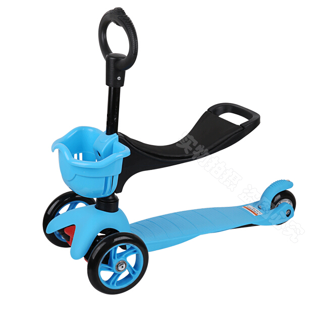 3 in 1 Colorful Special Edition Scooter with adjustable Seat and O-Bar Micro mini kids kick scooter baby Walker 1-8 ages(China (Mainland))