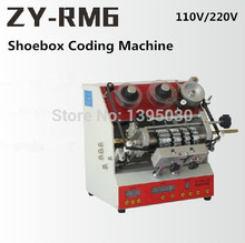 1pcs ZY-RM6 Semi-Automatic shoebox coding machine Pedal code printer free ship by DHL
