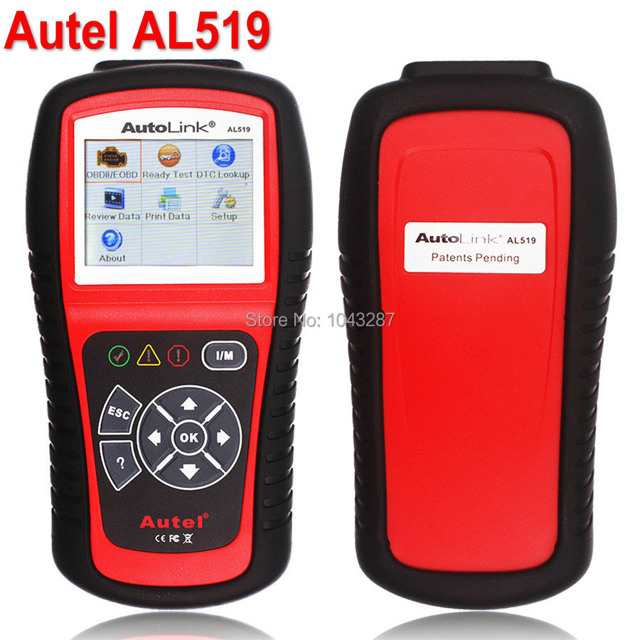 DHL Free Original Autel Autolink AL519 Scanner Autel AL 519 Code Reader work on ALL 1996 and Newer Vehicles OPEL Vauxhall