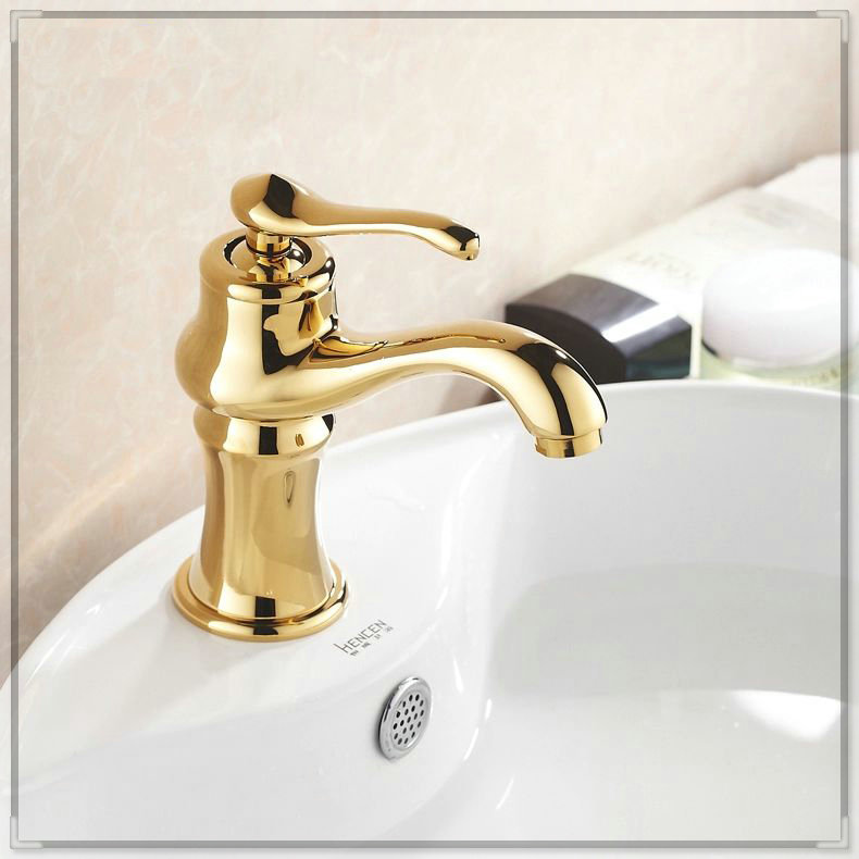 Free Shipping Luxury New Style Bathroom Basin Faucet Kitchen Faucet Hot Cold Sink Tap Single