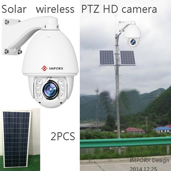 1080P 30x zoom Hikvison auto tracking high speed dome ip camera Solar Power IP Camera Wireless Outdoor HD And H.264 IR-CUT(China (Mainland))