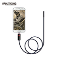 Android Endoscope OTG 7mm 2m Pinhole Camera Usb Inspection Waterproof Borescope Android Inspection Camera Snake Camera