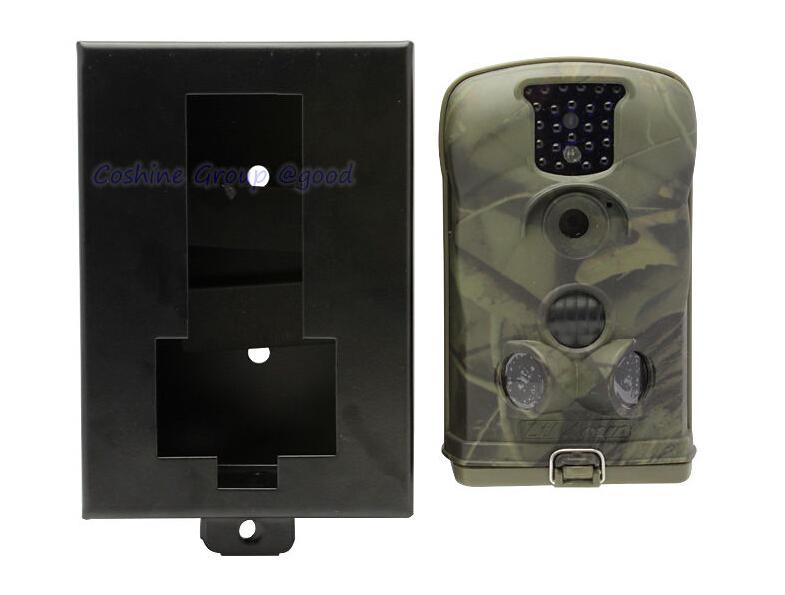 Ltl Acorn 6210MC 12MP HD Trail Camera 1080P/No glow/Flip-Down LCD/Cycling Save/Video/Audio Game Scouting hunting Camera+iron box(China (Mainland))