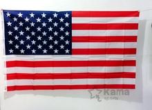 90 x 150 cm, 60 x 90 cm 1pcs Jumbo 3 x 5 feet 2 x 3 feet American Flag banner USA US FT Polyester(China (Mainland))
