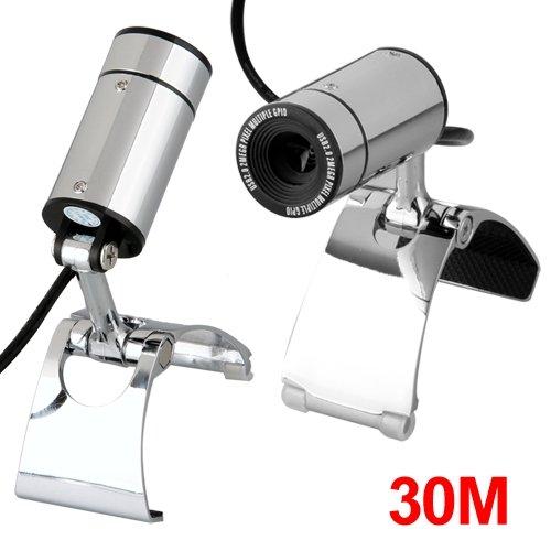 GTFS-USB 30.0 Mega Pixel Webcam Web Cam Camera for PC Laptop Skype Micro(China (Mainland))
