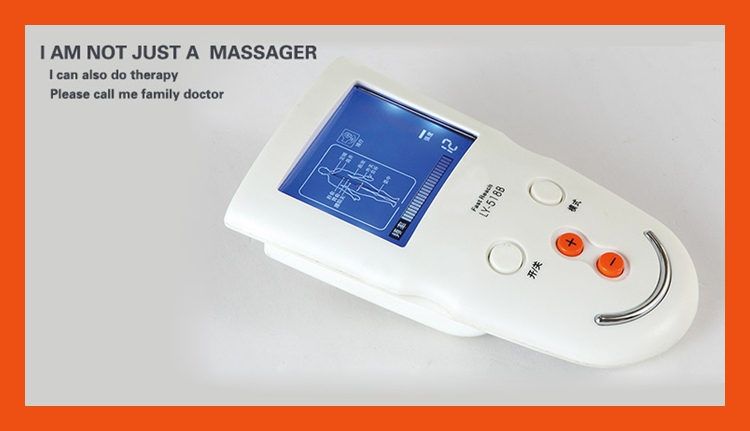 New Head Neck body Massager Wireless electrode silklite tens massager high quality(China (Mainland))