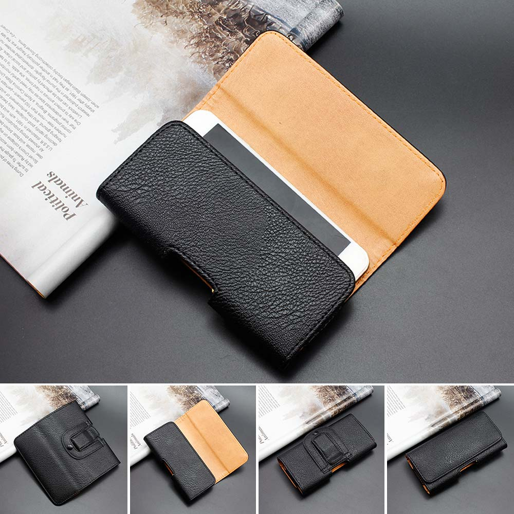 For iPhone 6 6S Plus 5 5S 4 4SUniversal Genuine Leather Belt Clip Phone Pouch Bag iPhone Vintage Case For 6 6S Plus(China (Mainland))