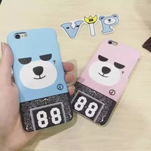 Buy Korea Super Popular GD Bigbang Krunk Bear 88 Plastic Case Cover Iphone 6Plus 5.5inch for $3.99 in AliExpress store