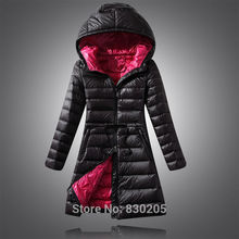 2016 New Women Long Down Jacket Winter Jacket Women Plus Size 6XL Hooded Down Coat 5