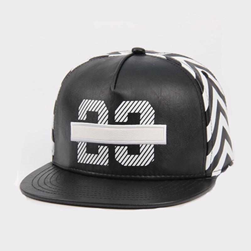 4b8fd58fe90 ebay 2016 new black 23 jordan leather snapback caps baseball hat for men  women sport hip