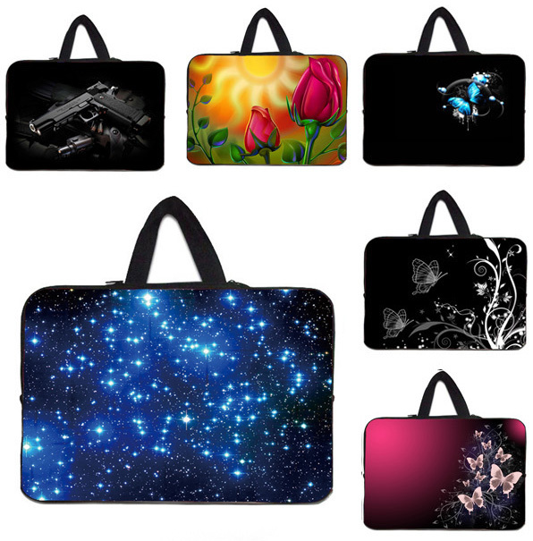 "notebook tablets neoprene cover bag fundas portatil 15.6 for macbook pro 15 case 10 12 13 15"" computer cases & bags for mini pc(China (Mainland))"