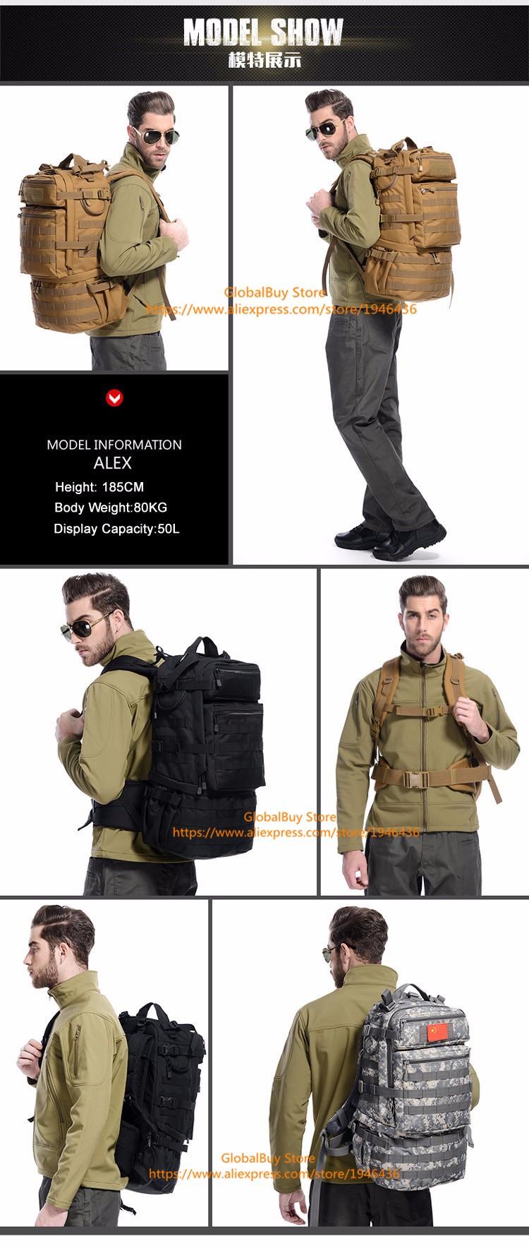 Military JEP Backpack 50L 4