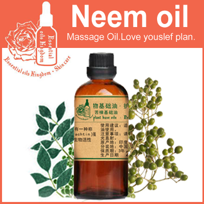 100% pure plant base oils chinaberry oil 100ml Cold-pressed neem oil Kill parasites,remove mites,Acne pimples Repair calm(China (Mainland))