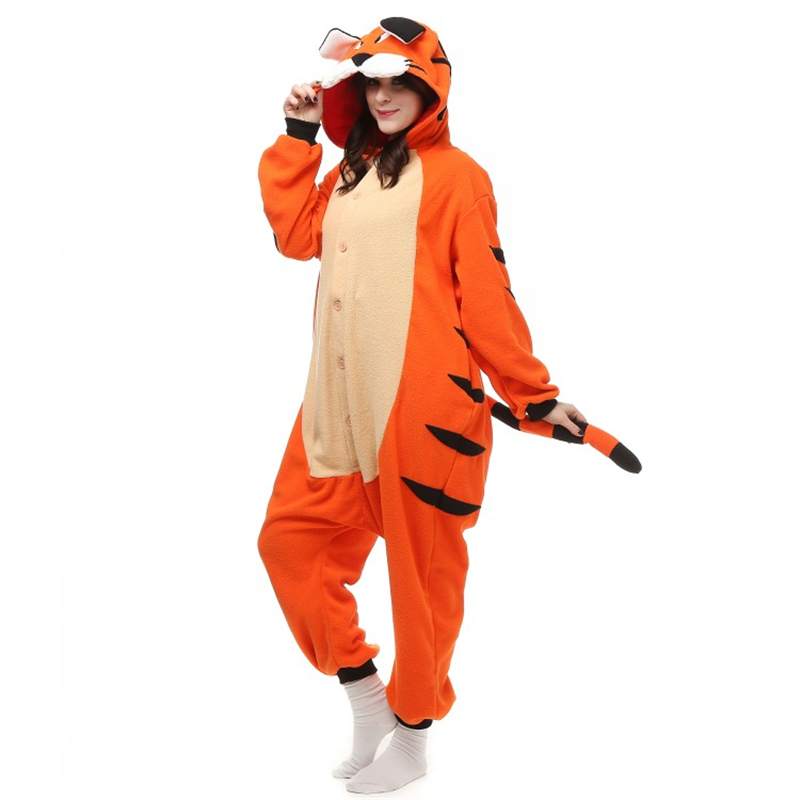 Funzee brings you the best adult footed pajamas and adult onesie pajamas at consistently low prices. We have a huge range of these fun garments including both unfooted and footed pajamas, hooded and unhooded sleepsuits, butt flap onesies, animal onesies and more fun stuff.