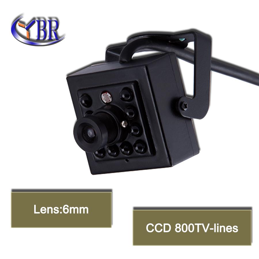 HD 1/3Sony Effio-e CCD 800TVL mini CCTV Surveillance Camera With 10PCS IR LEDs 3.6mm lens night vision indoor camera<br><br>Aliexpress