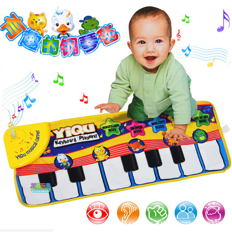 Baby Music Carpet Baby Music Mat Educational Baby Kid Child Piano Music Plat Mat 72*29cm CX872822(China (Mainland))