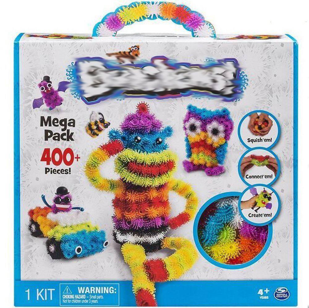 Bebear 2016 400pcs/1pack Mega Pack Construction Toy Set Kids Art Craft Refills Pet Building Block Best Block Toy for Children(China (Mainland))