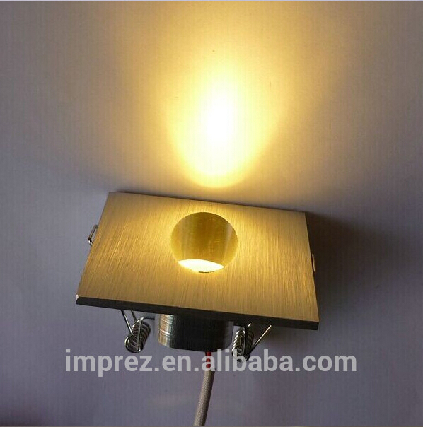 FREE DHL20pcs/lot 1W led corner wall lamp/1W led step wall lighting/recessed wall stair lighting ...