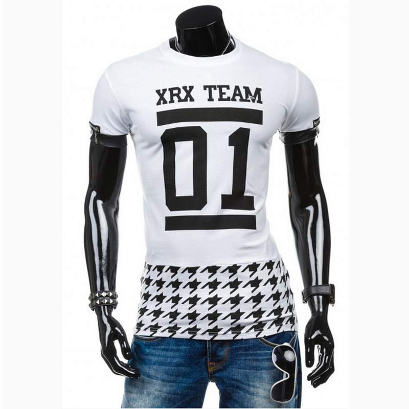 The new high quality summer 2016 men fashion city plover case leisure short sleeve T-shirt(China (Mainland))