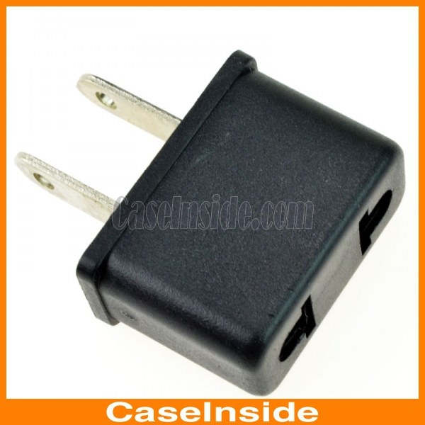 Small electric ac power plug adapter europe to usa travel