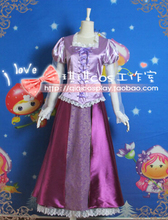 Princess Rapunzel dress Cosplay Princess Costume Custom made Carnival Halloween Anime cosplay costume