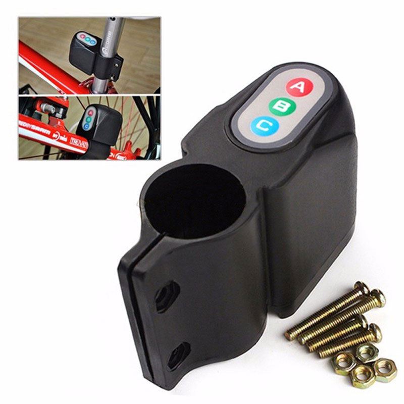 2016 Hot Sale Anti-theft Sound Loud Electronic Security Bike MTB Bicycle Steal Lock Alarm Free Shipping<br><br>Aliexpress