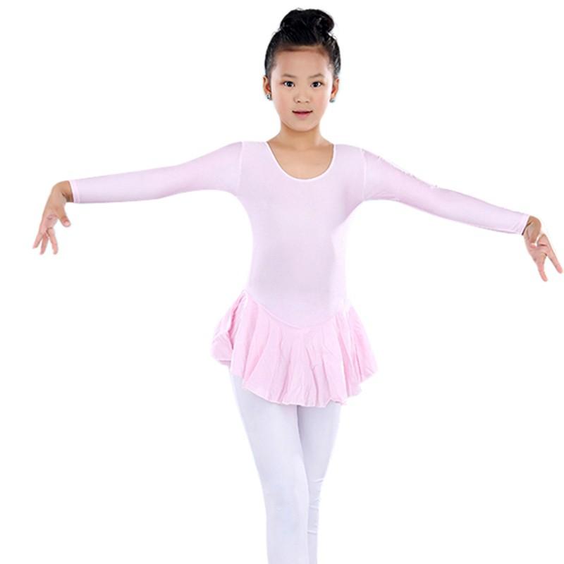 Girls Gymnastics Dance Dress Kid 3-14Y Ballet Leotards Tutus Dance Wear