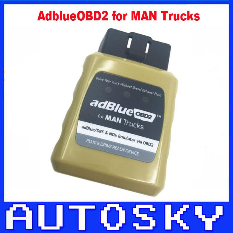 AdblueOBD2 MAN Adblue/DEF And Nox Emulator via OBD2 Plug and Drive Ready AdblueOBD2 MAN Adblueobd truck(China (Mainland))