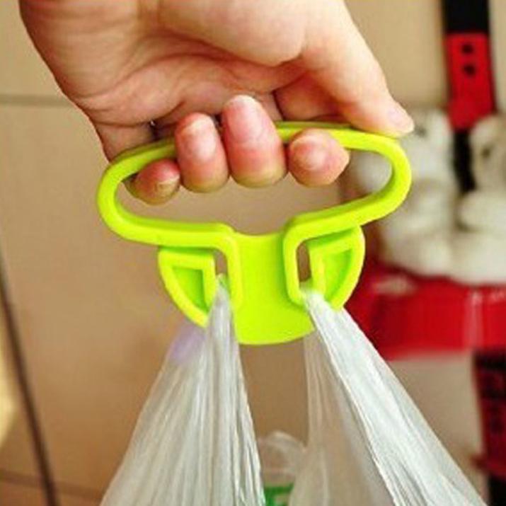 Brand new 2015 hot sale Helper plastic handbag hook hanger bag holder For Shopping Bags(China (Mainland))