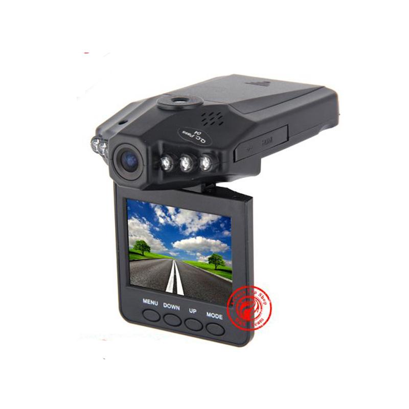 2.5 TFT LCD screen Portable Car DVR 198 HD Car Video Recorder Camera 6 IR LED Night vision 90 degree wide view angle(China (Mainland))